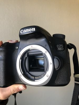 Canon 70 D Digital Camera Body Only! for Sale in San Diego, CA