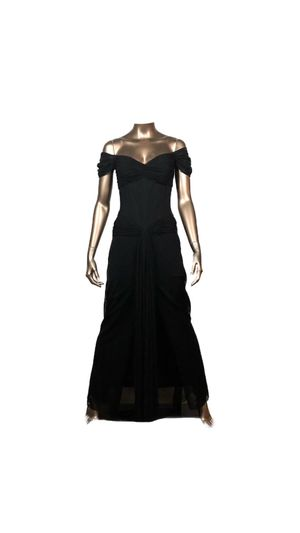 Black Vicky Tiel Couture for Sale in Thornwood, NY