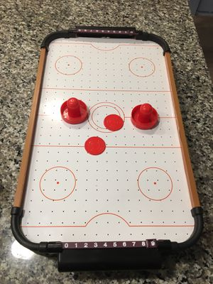 Mini Air Hockey Table for Sale in Shady Shores, TX