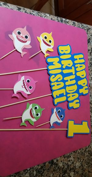 Cupcake and cake toppers (MTO) for Sale in San Jose, CA