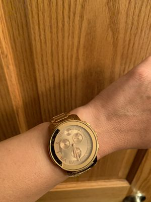 Movado woman's watch, rose gold in color for Sale in Eau Claire, WI