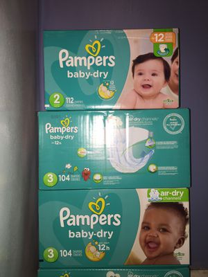 Pampers size 2,3 for Sale in Tampa, FL