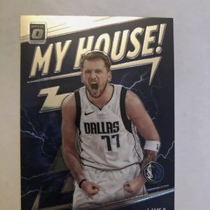 My House Optic Panini LUKA Doncic Rare Insert 2020 Prizm for Sale in Houston, TX