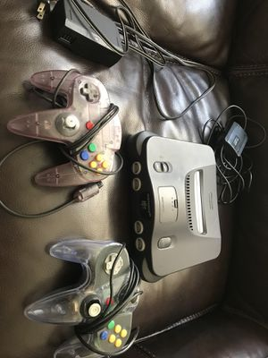 Nintendo 64 for sale + 2 controllers for Sale in Los Angeles, CA