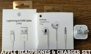 Genuine Apple Accessory Set (Audio Jack version) for Sale in Bailey's Crossroads, VA