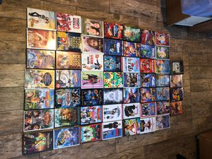 Over 50 Disney DVD Lion king, Cars, Monsters Inc. in credible up etc. for Sale in Stockton, CA