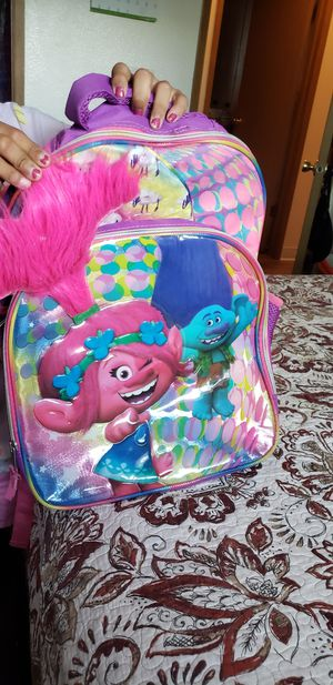 Trolls backpack for Sale in Tacoma, WA