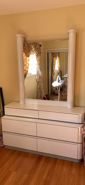Dresser with Mirror and Armoire for Sale in Sterling Heights, MI