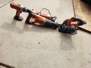 Ridgid power tools 24v for Sale in Moreno Valley, CA