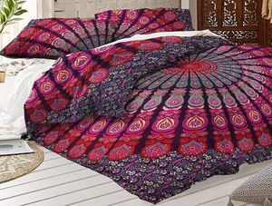 Sea of Reds Peacock Handmade New Mandala Bohemian 3pc Bedding Sheet Set for Sale in Raleigh, NC