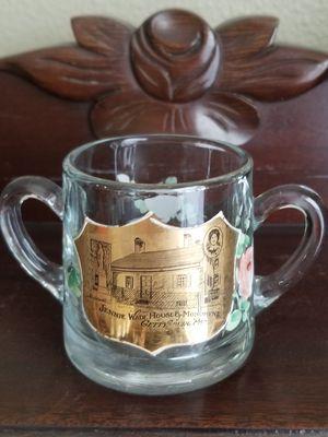 Antique Souvenir enameled glass keepsake for Sale in Tampa, FL