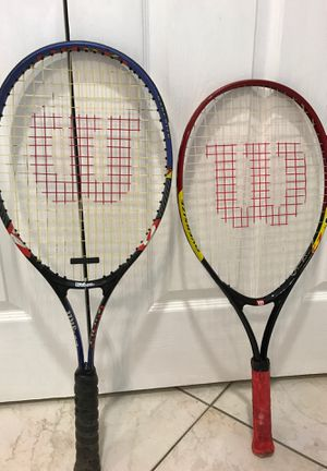 Tennis Rackets (Wilson) for Sale in Lake Mary, FL