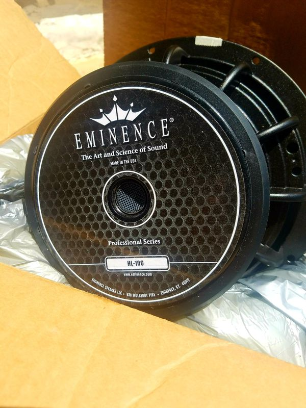 EMINENCE HL-10c Pair Car Speakers