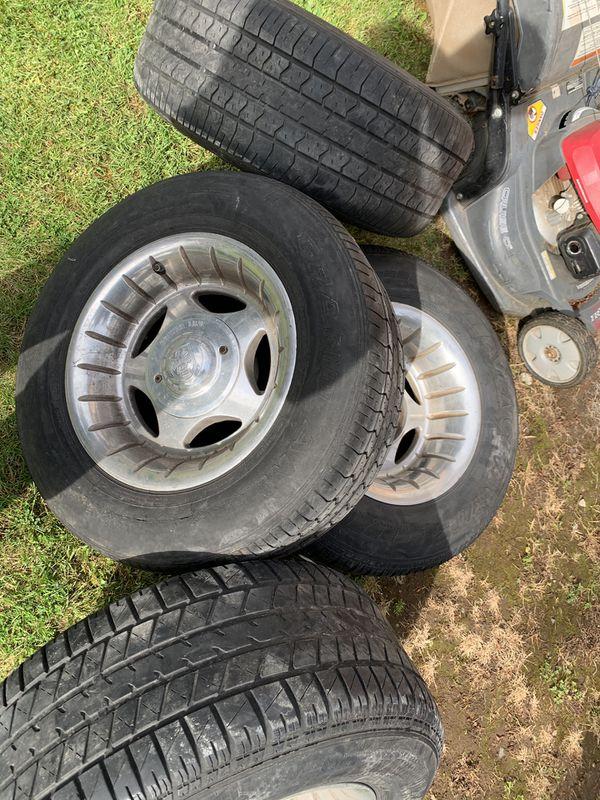6x6.5 Silverado wheels