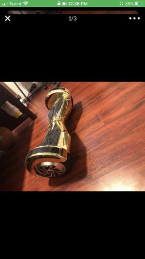 Gold hoverboard for Sale in Coral Springs, FL