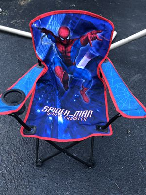 SPIDER-MAN FOLD OUT KIDS CHAIR for Sale in Glenview, IL