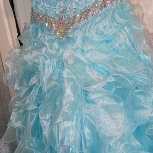 LAYLA K -FORMAL DRESS QUINCEANERA-PAGEANT-PROM- SIZE 10 for Sale in Swansea, SC