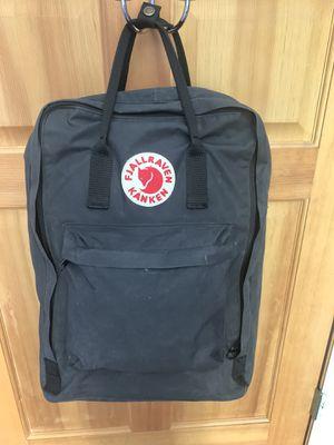 """Black Fjallraven Kanken 17"""" Laptop Backpack for Sale in Port Orchard, WA"""