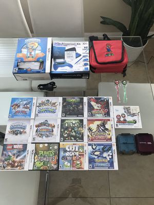 Nintendo 3ds accesories and games for Sale in Orlando, FL