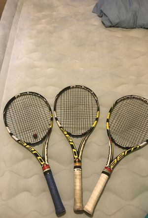 3 Babolat Aeropro Drive Plus Tennis Racquets for Sale in Washington, DC