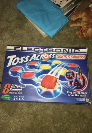Toss across (tic tac toe game) for Sale in Concord, NC