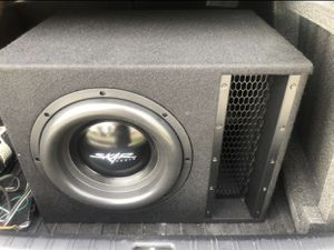 "Brand New 12"" Inch Subwoofer BOX ONLY Sub Amplifier Amplificador Skar Audio Car for Sale in Dania Beach, FL"