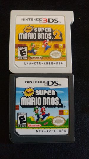 Mario 3ds games for Sale in San Diego, CA