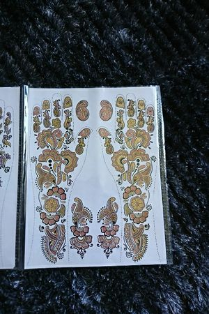 12 henna water transfer art tattoo decal for Sale in Scottsdale, AZ