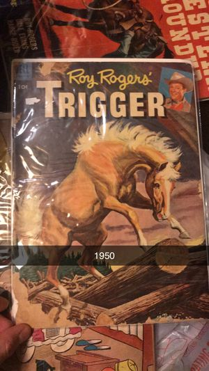 1950 trigger western comic for Sale in Tampa, FL