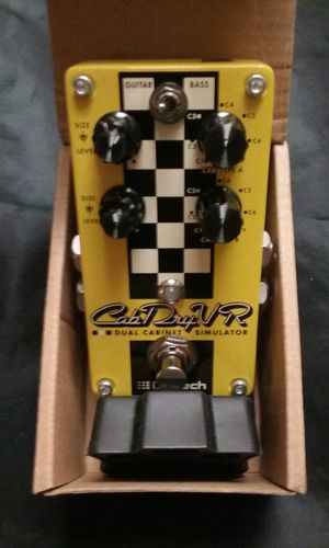 Digitech CabDryvr Dual Guitar/ Bass Cab Simulator Effects Pedal for Sale in Tempe, AZ