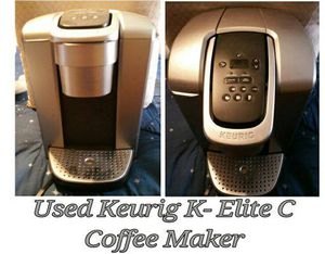 used keurig elite c coffee maker for Sale in Hacienda Heights, CA