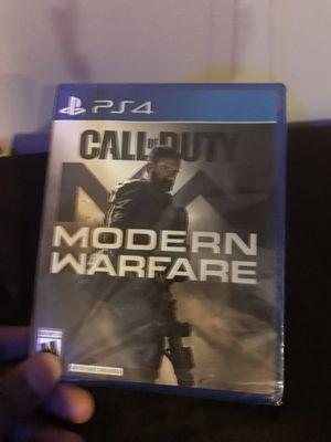 Modern Warfare PS4 for Sale in Washington, DC