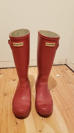 Hunter Original Rain Boots (Youth Size 4/Women's Size 6) for Sale in Portland, OR
