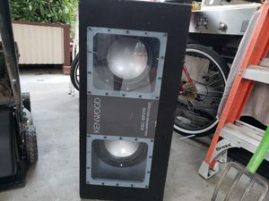 10 inches alpine subwoofers for Sale in Anaheim, CA
