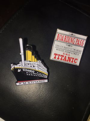 RARE R.M.S Titanic Museum collectors pins for Sale in Whitehouse, TX