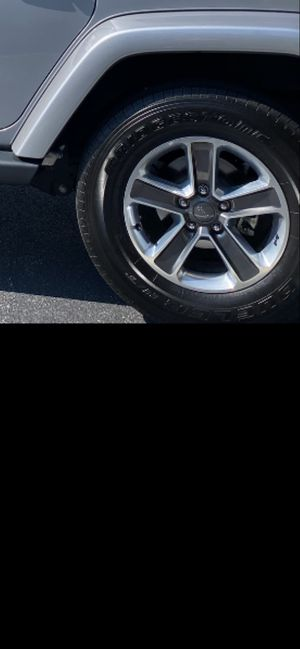Jeep Rims size 255/70R18. 5 of them for $500.00 for Sale in Rocky Mount, NC
