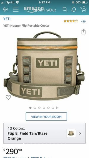YETI cooler and YETI ice pack for Sale in Fishers, IN