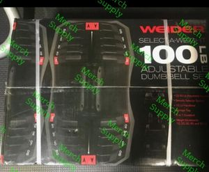 100 lb adjustable dumbbells for Sale in Temple City, CA