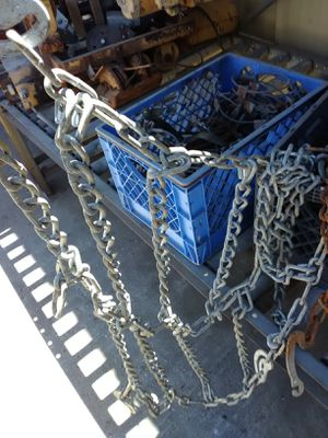 Big tractor tire chains for Sale in Fontana, CA