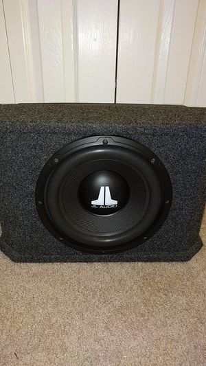 "JL Audio 10"" Subwoofer w/ Amp for Sale in Alexandria, VA"