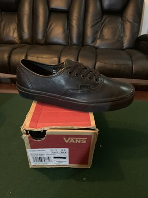 $60 VANS LEATHER size men: 9 for Sale in Eastvale, CA