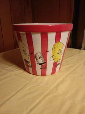 Ceramic popcorn bowl for Sale in Princeton, WV