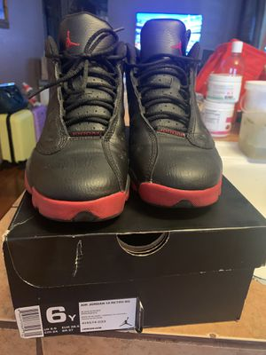 Air Jordan 13 retro bg size 6 for Sale in Sunnyvale, CA