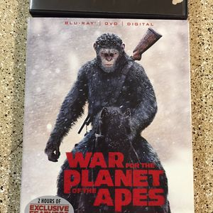 Movie Bundle War Planet Of The Apes And Friday The 13th Deluxe Edition for Sale in Aloha, OR