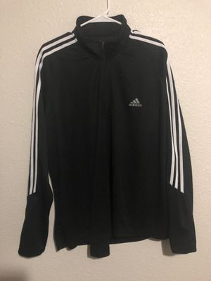 Adidas men's half zip sweater for Sale in San Antonio, TX