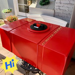 NEW...Car Detail Water Tank Elegant Red (Low Profile) 65GALLON 🚙☀️ for Sale in Santa Ana, CA