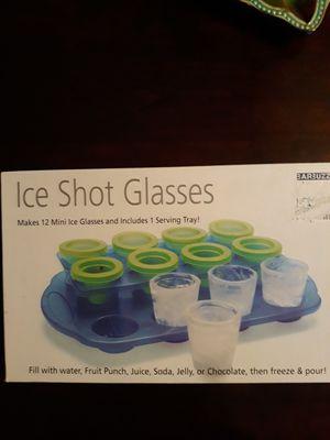 Mini ice shot glass mold for Sale in Miami, FL