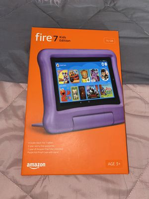 Fire 7 kids edition tablet Amazon for Sale in Hawthorne, CA
