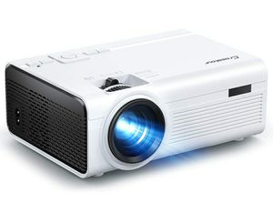Crosstour Projector P600 LED Video Home Theater Supporting 1080P 55,000 Hrs Lamp for Sale in Los Angeles, CA