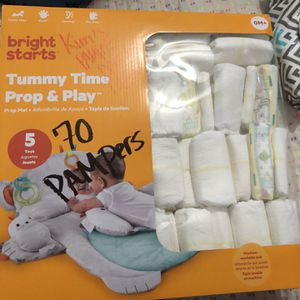 Diapers Brand Pampers for Sale in Fort Worth, TX